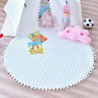 Floor Play Mat White with Ball - iKids