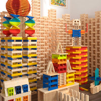 Mideer Creative Tower City Wood Blocks - iKids