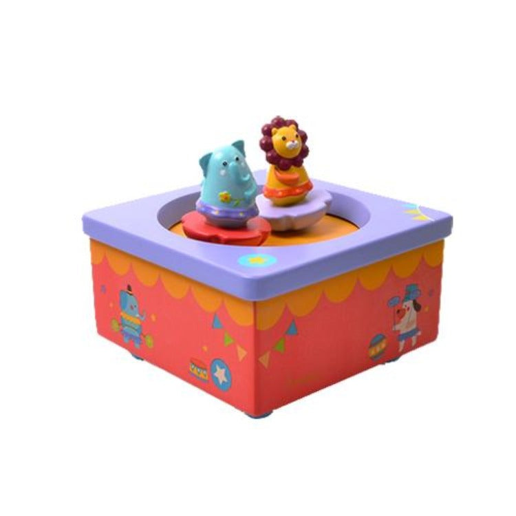 Wooden Musical Box Fantasy Circus - iKids