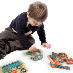 Discovery Puzzle Fire Engine - iKids