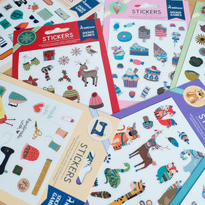 Mideer Indian Colourful Stickers - iKids