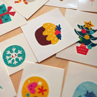 Mideer Christmas Watermark Temporary Tattoo Stickers - iKids