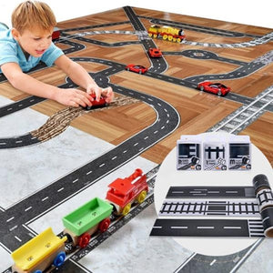 Fun Road Tape for Toy Cars - iKids