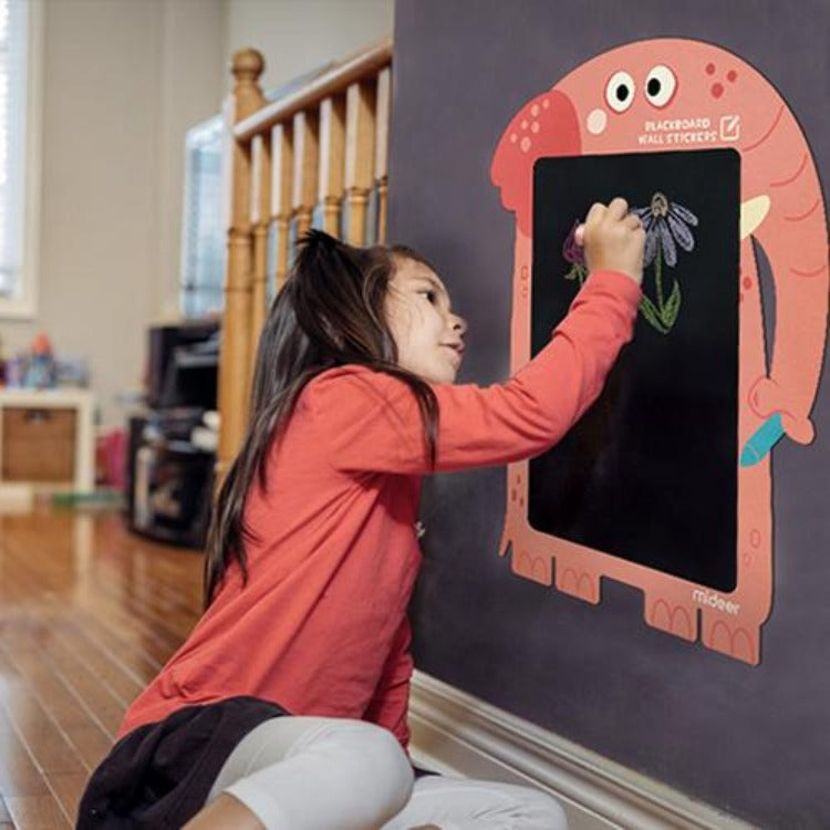 Sticker Chalkboard with Chalks Elephant - iKids