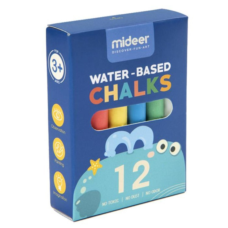 Multifunctional Palm Oil Chalk Whale 12's - iKids