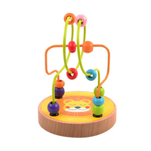 Mini Wooden Beads Maze Lion - iKids