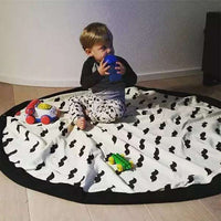 Portable Play Mat Mustache - iKids