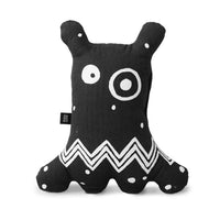 Black Big-Eyed Monster Cushion - iKids