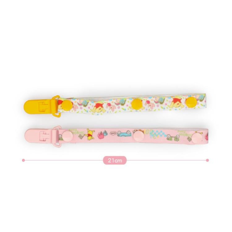 Pacifier Clip Pink - iKids