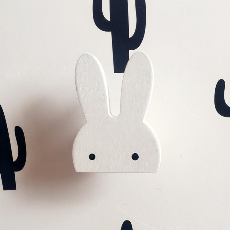 Bunny Wall Hook White - iKids