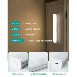Motion Sensor Adjustable Light Strip 30cm - iKids