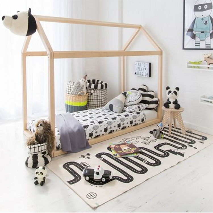 Cotton Play Rug Highway - iKids