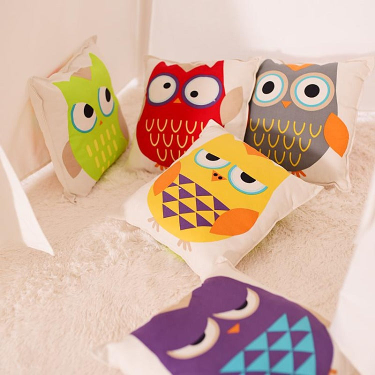 Animal Cushion Owl - iKids