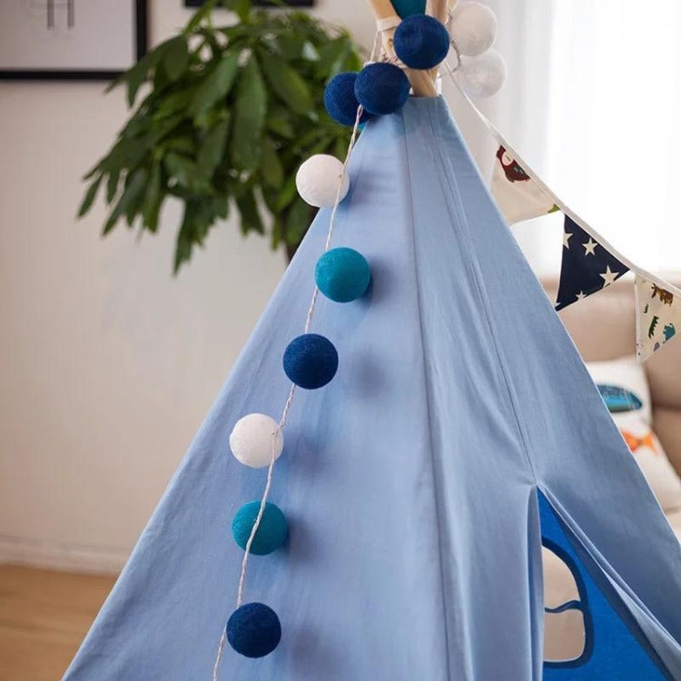 Teepee Tent Midnight Blue - iKids