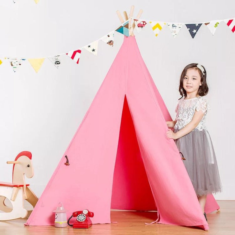 Teepee Tent Candy Pink - iKids