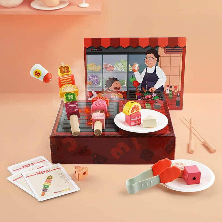 TopBright Kitchen BBQ Toy Set - iKids