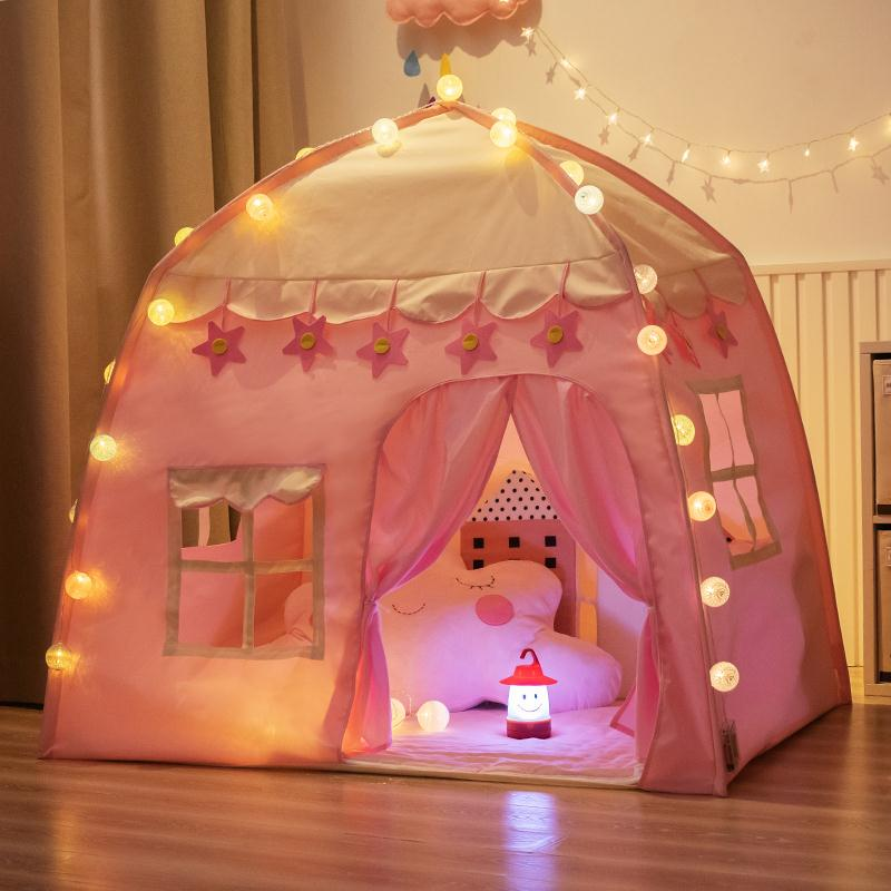 Princess Castle Tent Pink - iKids