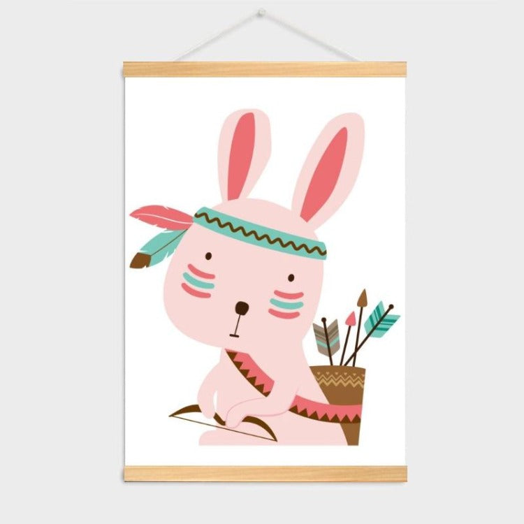 Poster Hanger Frame - Indian Rabbit - iKids