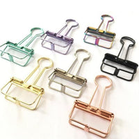 Office Hollow Binder Clip Green - iKids