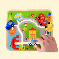 City Track Traffic Maze - iKids