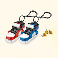 LOZ Mini Blocks Sports Shoes - Blue & Red - iKids