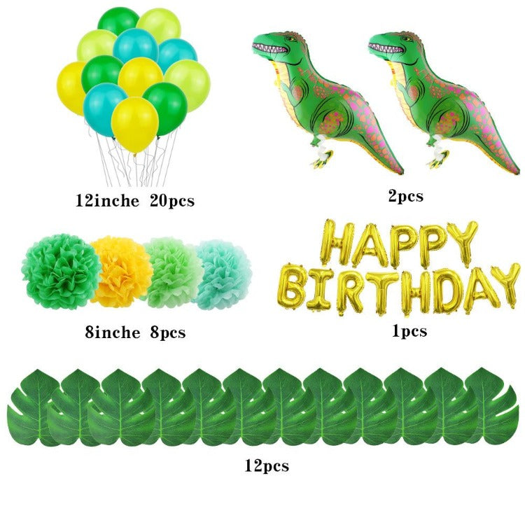 Dinosaur Birthday Party Decorations Balloons - iKids