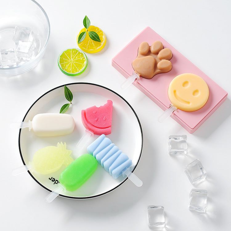 Baby Food Silicone Mold Ice Cream - iKids