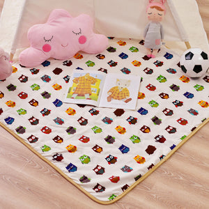 Floor Play Mat Square Owl - iKids