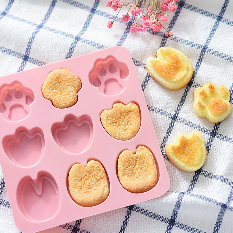 Baby Food Silicone Mold 9 Footprint - iKids