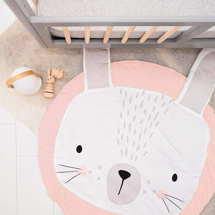 Forest Play Mat Rabbit Pink - iKids