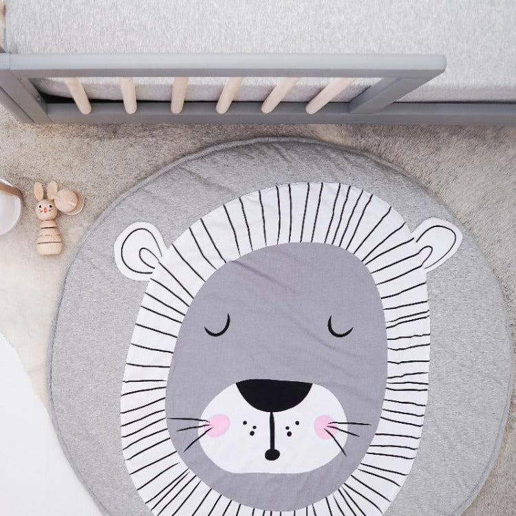 Forest Play Mat Sleepy Lion - iKids