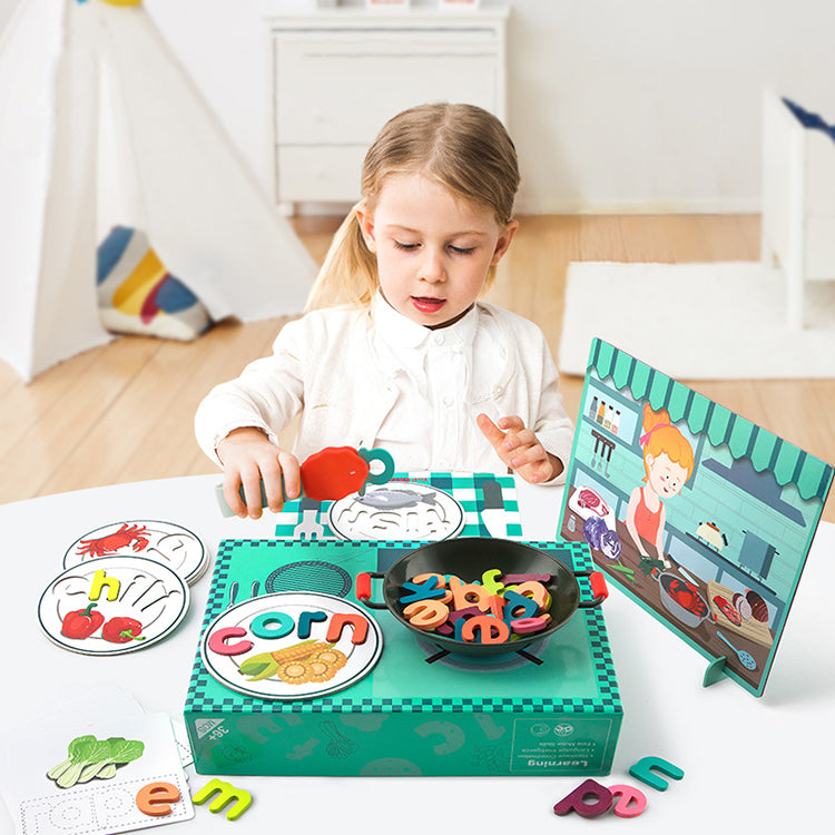 TOP BRIGHT Kitchen Cooking Toy Set - iKids