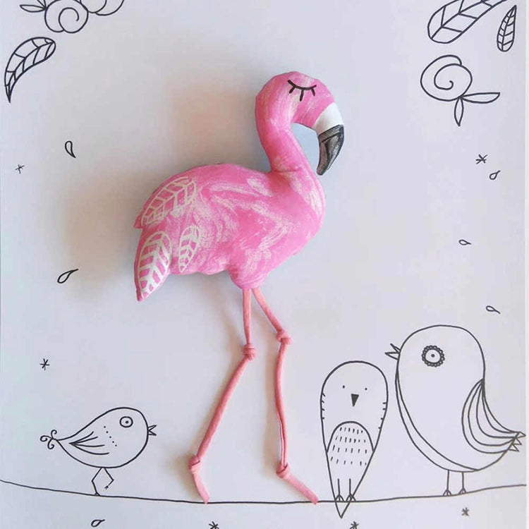 Flamingo Plush Toy - iKids