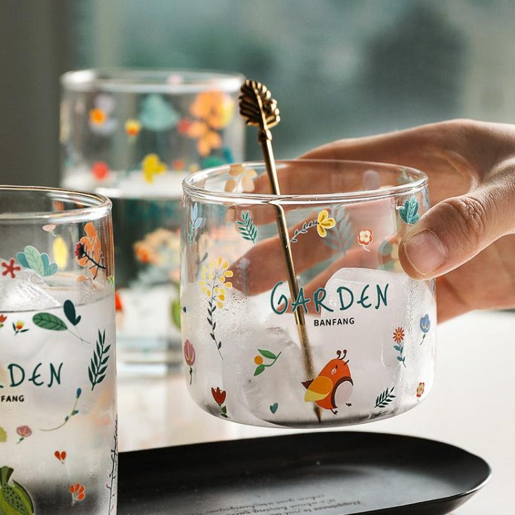Garden Glass Cup Small - iKids