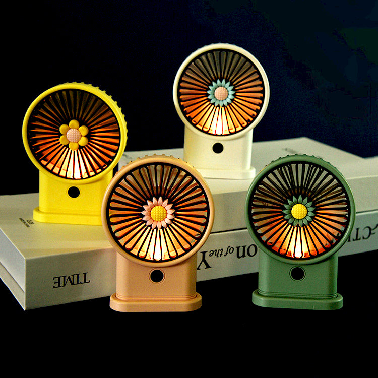 White Sunflower Fan - iKids