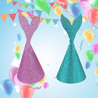 Purple Mermaid Party Decorations Set - iKids