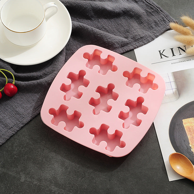 Baby Food Silicone Mold 9 Puzzle - iKids