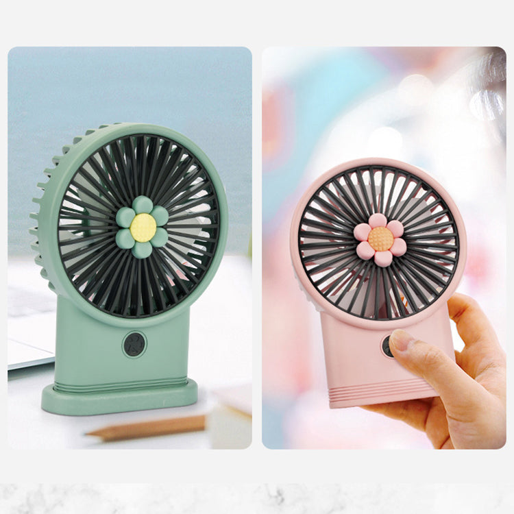 Pink Sunflower Fan - iKids