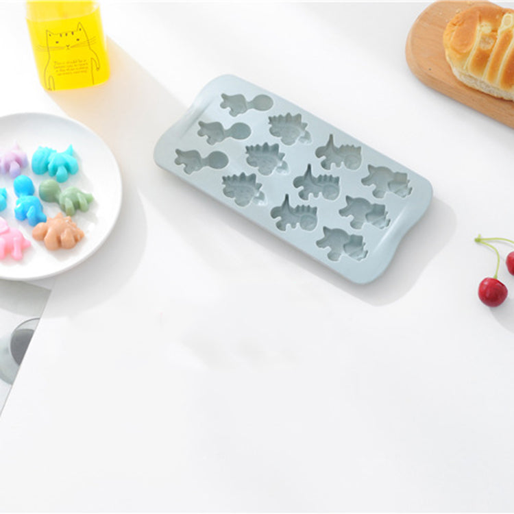 Baby Food Silicone Mold 12 Dinosaur - iKids