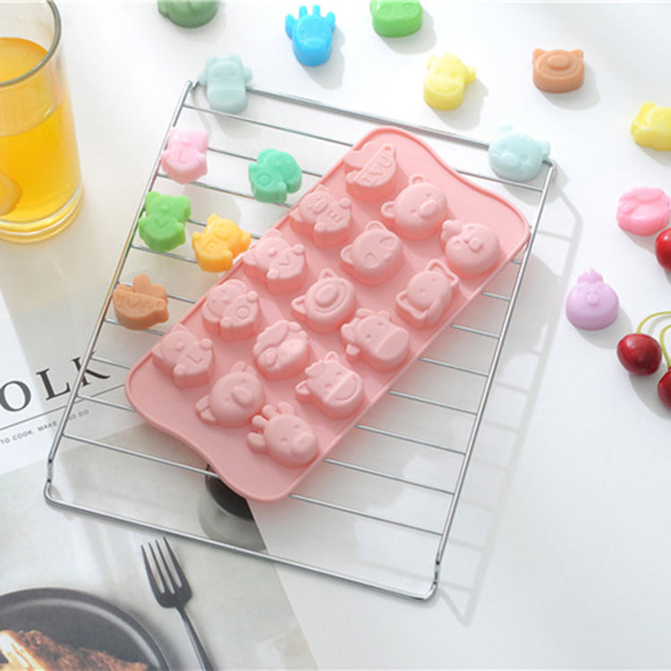 Baby Food Silicone Mold 15 Animal - iKids