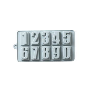 Baby Food Silicone Mold 10 Number - iKids