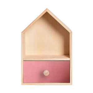 Pink House Storage Shelf - iKids