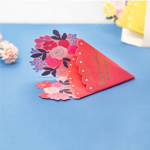 Flower Bouquet Card - iKids