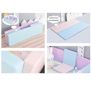 Foldable Leather Playpen - iKids