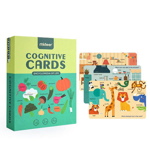 Mideer Cognitive Cards - Encyclopedia of Life - iKids