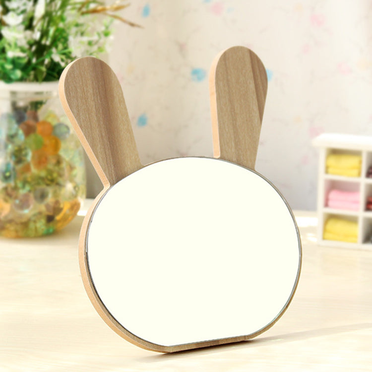 Bunny Wooden Decor Mirror - iKids