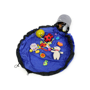 2 in 1 Portable Basket - Big Blue - iKids