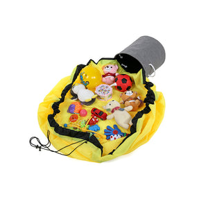 2 in 1 Portable Basket - Big Yellow - iKids
