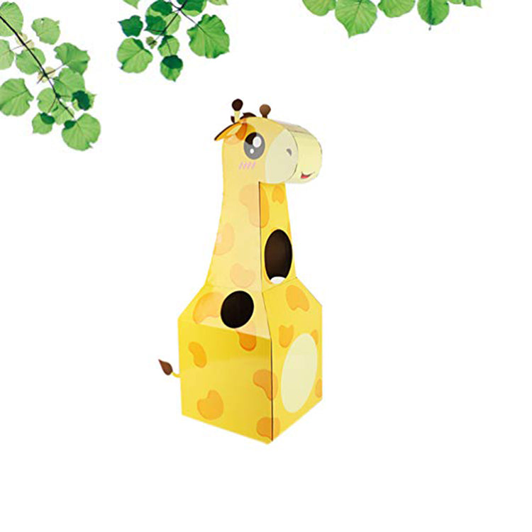 Cardboard Wearable Playhouse Giraffe - iKids