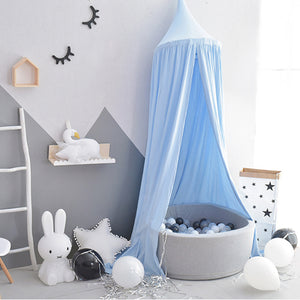 Bed Canopy Blue - iKids